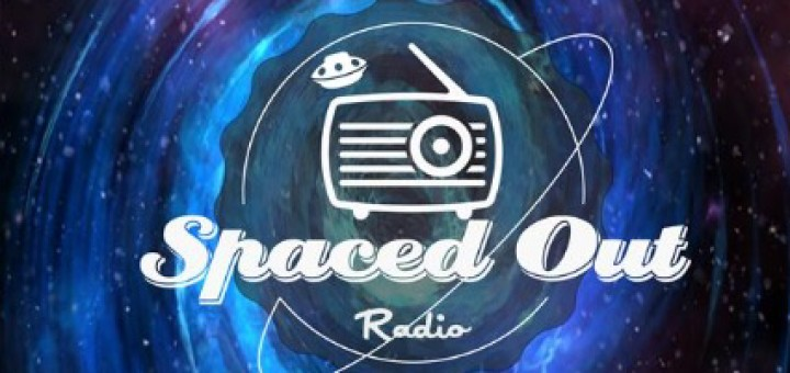 """Logo for the podcast """"Spaced Out Radio"""""""