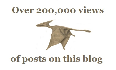 """Over 200,000 views of posts on this blog"""