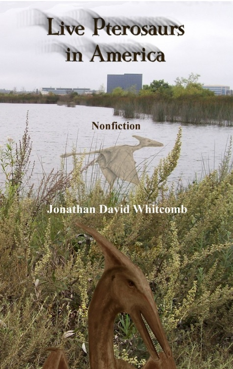 cryptozoology book, nonfiction, on modern pterosaurs in the USA