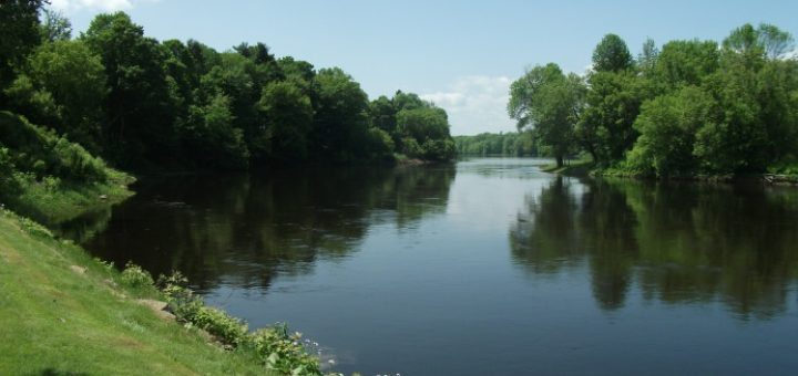 northern New York state - river