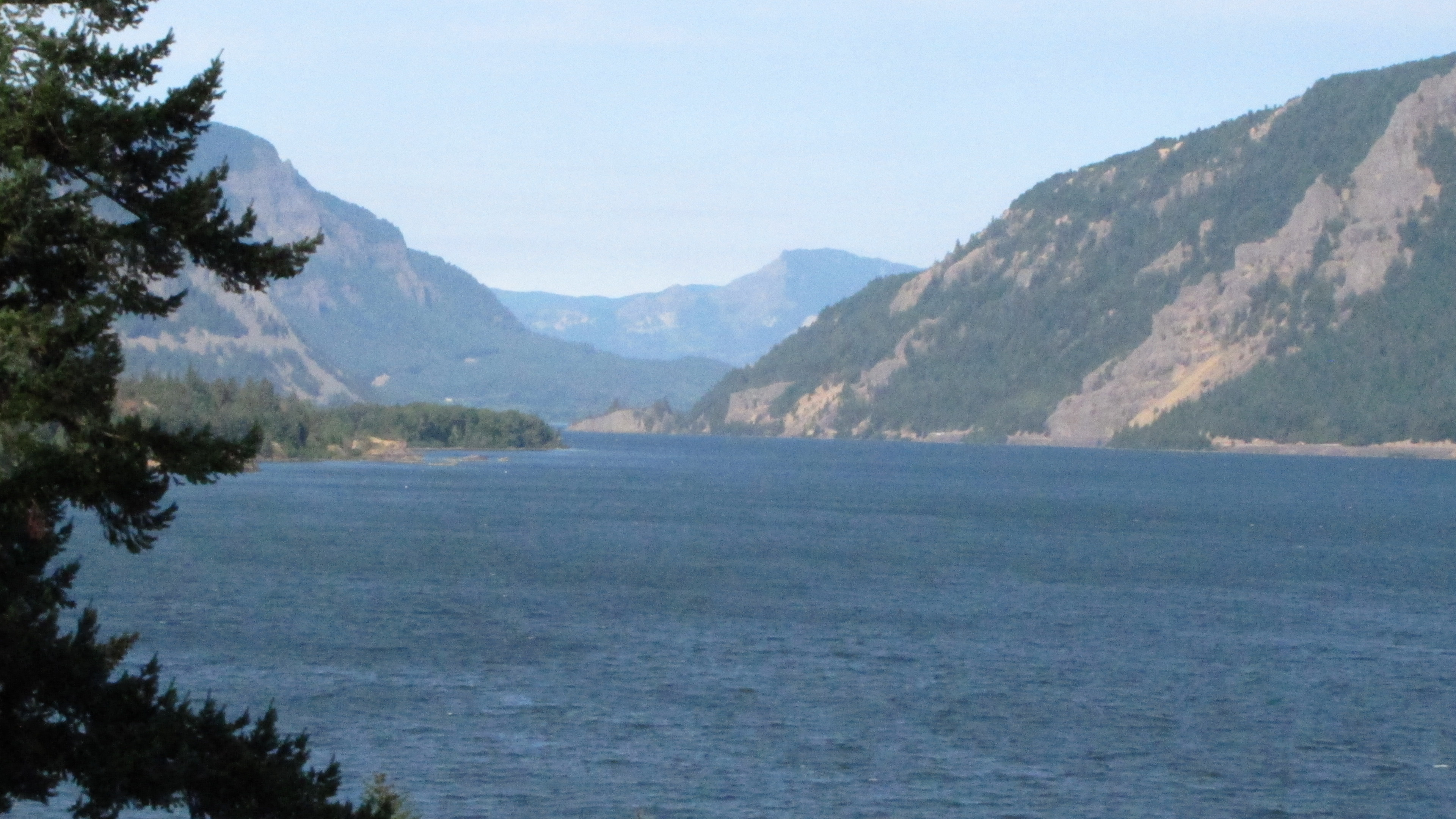Columbia River Gorge in Oregon, 2015