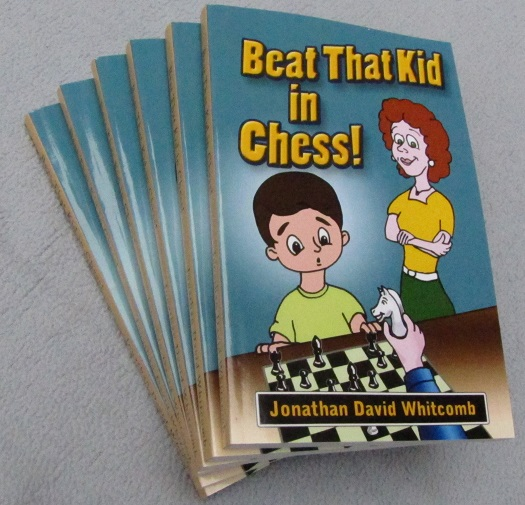 """Beat That Kid in Chess"" paperback"