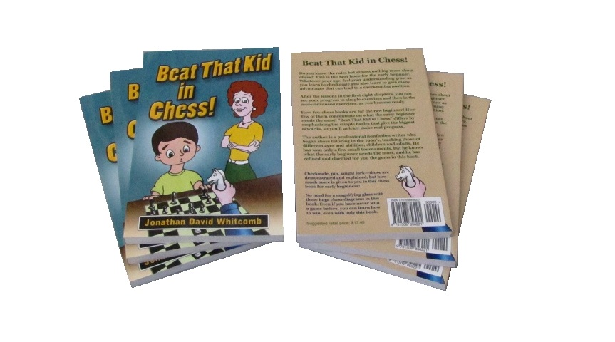 chess book - for teenagers and adults