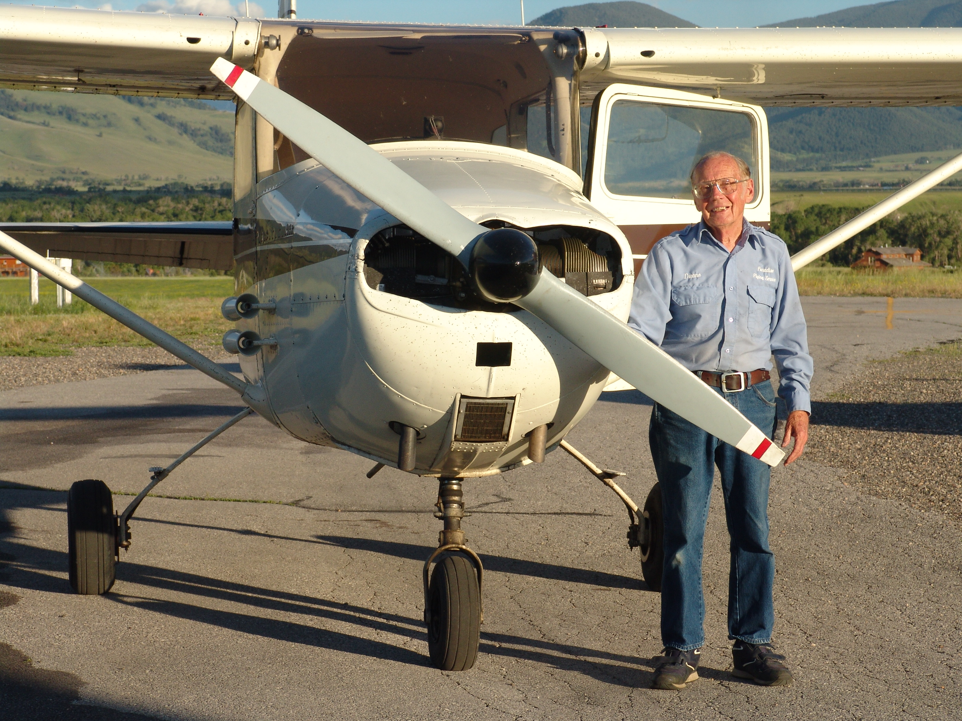 World War II veteran is now a flight instructor