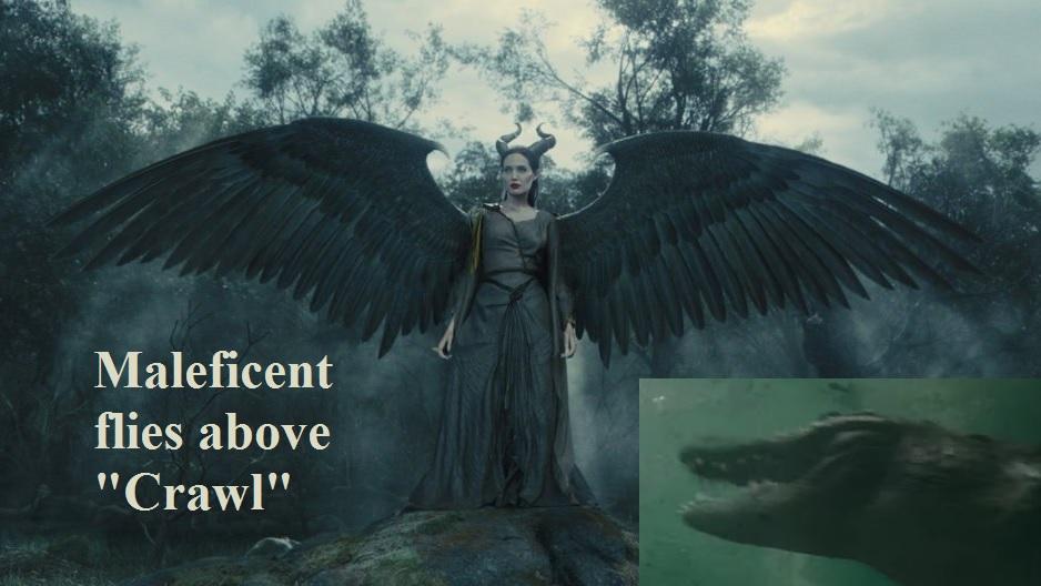 How Maleficent Flies Above Crawl Live Pterosaur
